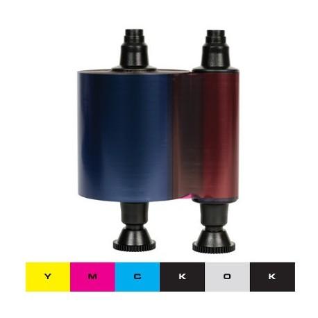 Ruban couleur YMCKO-K Evolis Quantum 1, Quantum 2 - 500 faces