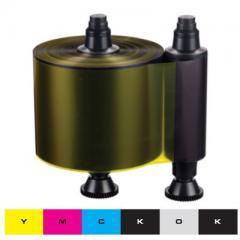 Ruban couleur YMCKO-K Evolis Quantum 1 - 800 faces