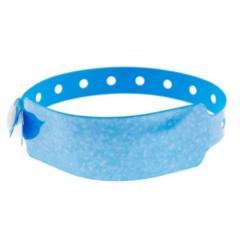 Bracelets holographiques étoiles bleu