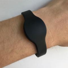 Bracelet silicone noir Mifare 1k