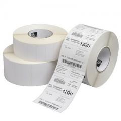 Zebra Z-Perform 1000T - 102 mm x 152 mm (perf) - étiquettes papier velin