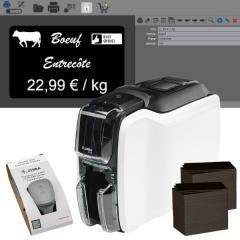 Bundle Zebra ZC100 price tag