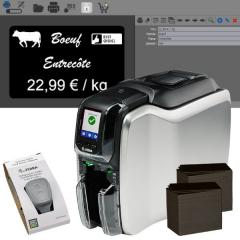 Bundle Zebra ZC300 price tag