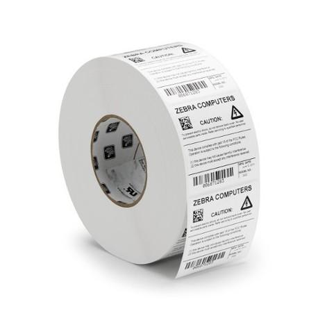Zebra Z-Ultimate 3000T blanc - 102 mm x 25 mm - étiquettes Polyester brillant