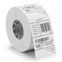 Zebra Z-Perform 1000T - 102 mm x 64 mm - étiquettes papier velin