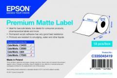 Epson rouleau d'étiquettes, papier normal, 102 mm IM C33S045419