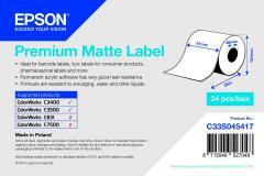 Epson rouleau d'étiquettes, papier normal, 51 mm IM C33S045417