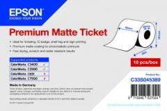 Epson rouleau de tickets et bons (continu), papier normal, 80 mm IM C33S045389