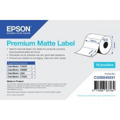 Epson rouleau d'étiquettes, papier normal, 102x51mm IM C33S045531