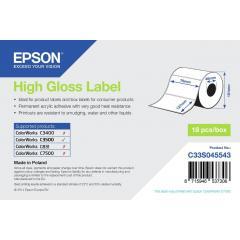Epson rouleau d'étiquettes, papier normal, 76x127mm IM C33S045543
