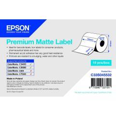 Epson rouleau d'étiquettes, papier normal, 102x76mm IM C33S045532
