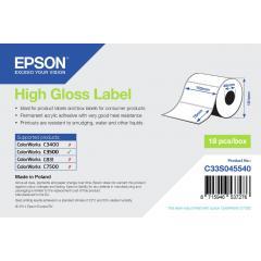 Epson rouleau d'étiquettes, papier normal, 102x76mm IM C33S045540