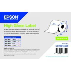 Epson rouleau d'étiquettes, papier normal, 51 mm IM C33S045536
