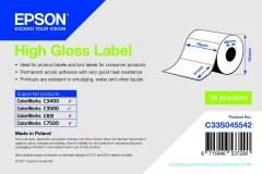 Epson rouleau d'étiquettes, papier normal, 76x51mm IM C33S045542