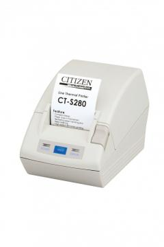 Citizen CT-S281, USB, 8 pts/mm (203 dpi), massicot, blanc IM CTS281UBEWH