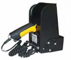 Honeywell support de scanner chauffé, 36-48 V, avec enrouleur de câble IM 520L-3648-S3
