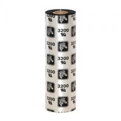 Ruban Zebra 3200 Cire/Résine - 110 mm x 74 mètres - Lot de 12