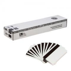 Cartes PVC Mag Zebra HiCo 0.76mm - lot de 500