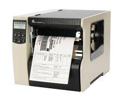 Imprimante étiquettes Zebra 220Xi4, 12 pts/mm (300 dpi), décolleur, ré-enrouleur, multi-IF, serveur d'impression (Ethernet)