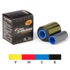 Ruban couleur YMCK Zebra ZXP8, ZXP9 - 625 faces