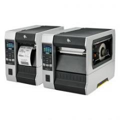 imprimante d'étiquettes Zebra ZT610, 24 pts/mm (600 dpi), décolleur, ré-enrouleur, écran (couleur), ZPL, ZPLII, USB, RS232,