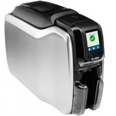 imprimante à cartes Zebra ZC300, 2 faces, 12 pts/mm (300 dpi), USB, Ethernet, WiFi, écran IM ZC32-000W000EM00
