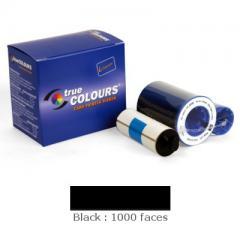 Ruban noir Zebra P330i/P430i, 1000 faces