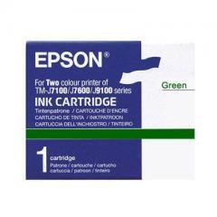 Cartouche d'encre vert Epson TM-J 7100/7600 IM C33S020406