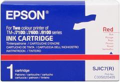 Cartouche d'encre rouge Epson TM-J 7100/7600 IM C33S020405