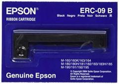 Epson ERC 09B Ruban couleur noir pour Epson R HX-20, M160, M180, M190 IM C43S015354