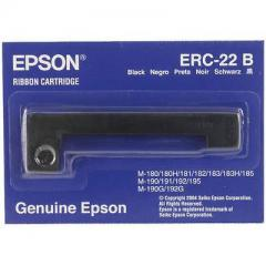 Epson ERC 22 Ruban couleur noir pour Epson TM-267/II, TM-250, TM-270, TM-280, M260 IM C43S015358