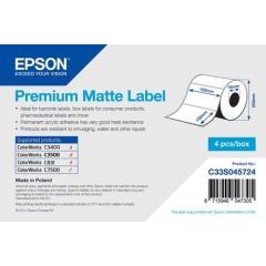 Rouleau d'étiquettes Epson papier normal, 102x152mm IM C33S045724