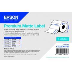 Rouleau d'étiquettes Epson papier normal, 102x51mm IM C33S045722