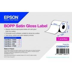 Rouleau d'étiquettes Epson synthétique, 220 mm IM C33S045701