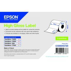 Rouleau d'étiquettes Epson papier normal, 76x51mm IM C33S045720