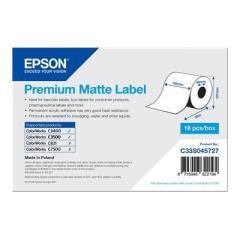 Rouleau d'étiquettes Epson papier normal, 105x35m IM C33S045727