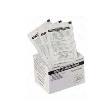 Kit 100 cartes de nettoyage Zebra P330i, P430i