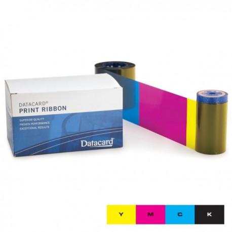 Ruban couleur YMCK Datacard - 500 faces