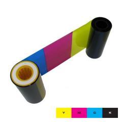 Ruban couleur YMCK Datacard SR200, SR300, RP90 - 1000 faces