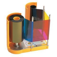 Ruban couleur YMCKUV Datacard SR200, SR300, RP90 - 750 faces