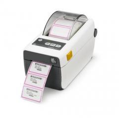 Imprimante étiquettes Zebra ZD410, 12 pts/mm (300 dpi), CR, HTR, EPLII, ZPLII, USB, BT (BLE, 4.1), WiFi, blanc IM ZD41H23-D0EW