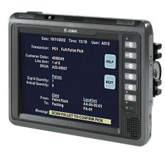 Ordinateur pour véhicule Zebra VC70N0