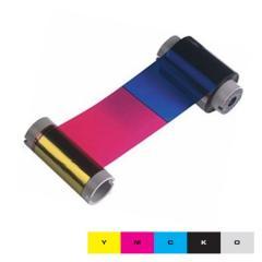 Ruban couleur YMCKO HID Fargo DTC550 - 500 faces