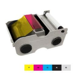 Ruban couleur YMCKO HID Fargo DTC400e - 250 faces