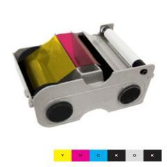 Ruban couleur YMCKOK HID Fargo DTC400e - 200 faces