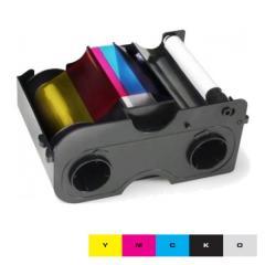Ruban couleur YMCKO Starter HID Fargo DTC400e - 250 faces