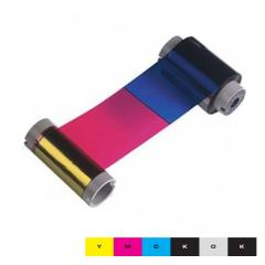 Ruban couleur YMCKOK HID Fargo DTC550 - 400 faces
