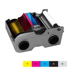 Ruban EZ couleur YMCKO HID Fargo DTC1250e, DTC1000 - 250 faces