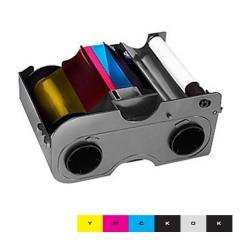 Ruban EZ couleur YMCKOK HID Fargo DTC1250e, DTC1000 - 200 faces