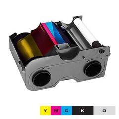 Ruban EZ couleur 1/2 YMCKO HID Fargo DTC1250e, DTC1000, C50 - 350 faces